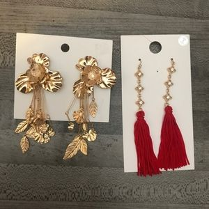 NWT Earrings from H&M and Forever 21 SET